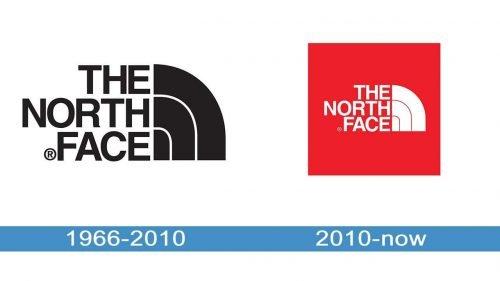 North Face Logo history