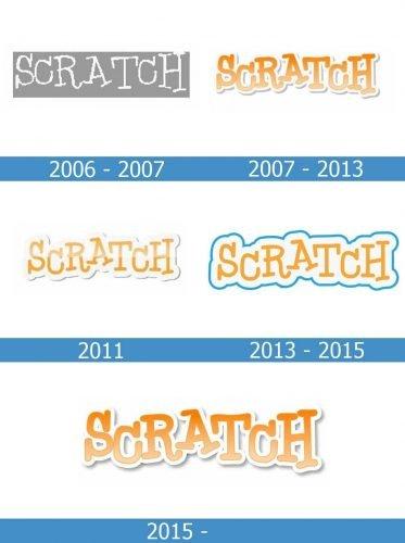 Scratch Logo history
