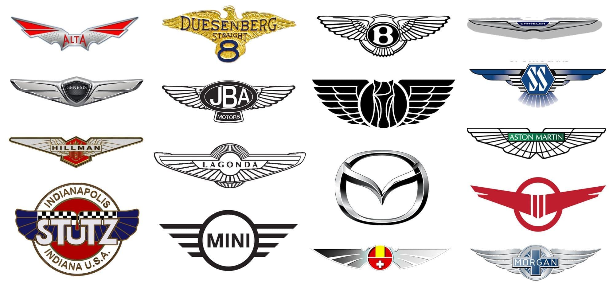 Todo El Logotipo Del Coche Con Alas Significado Del Logotipo Png Vector