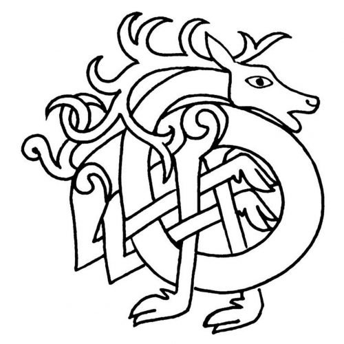 Celta Ciervo Simbolo