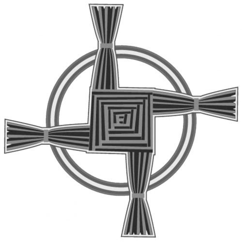 Celta Cruz de Brigid Simbolo