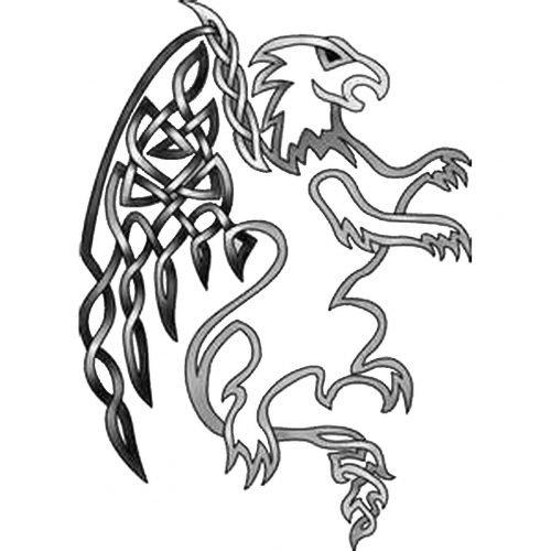 Celta Grifo Simbolo