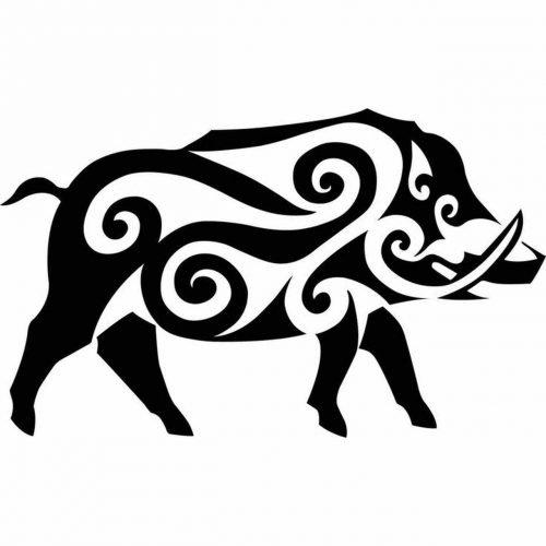 Celta Jabalí Simbolo