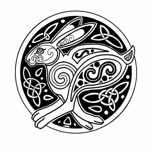 Celta Liebre Simbolo