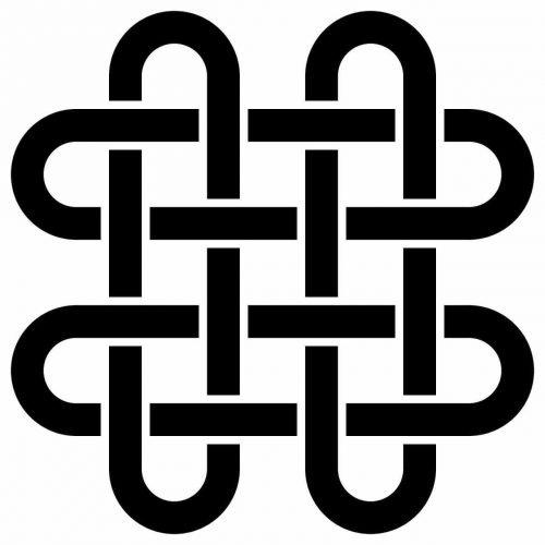 Celta Nudo de Salomón Simbolo