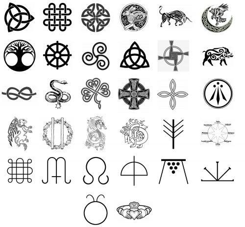 Celtas Simbolos