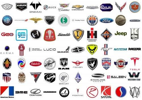 Marcas de automóviles estadounidenses
