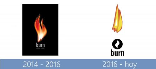 Burn Logo historia