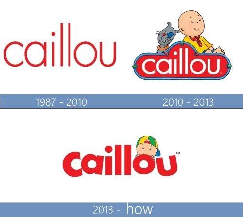 Caillou Logo historia