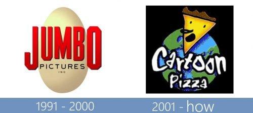 Cartoon Pizza Logo historia