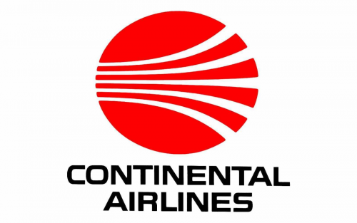 Continental Airlines Logo 1967