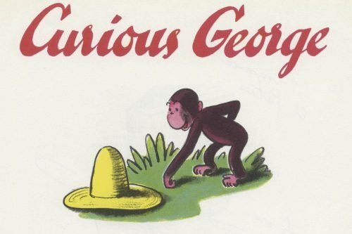 Curious George first logo