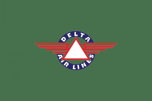 Delta Air Lines Logo 1934