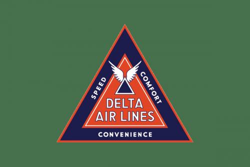 Delta Air Lines Logo 1935