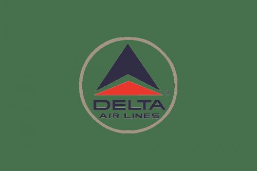 Delta Air Lines Logo 1963