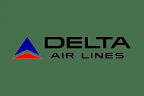 Delta Air Lines Logo 1966