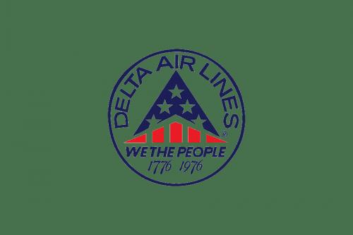 Delta Air Lines Logo 1976