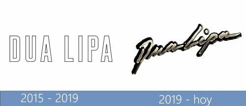 Dua Lipa Logo historia