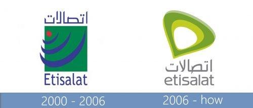 Etisalat Logo historia