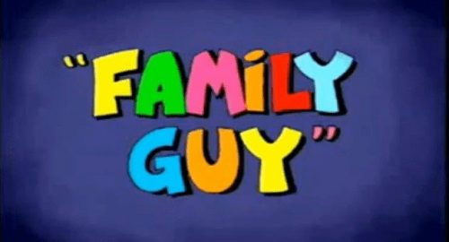 Family Guy Logo 1998