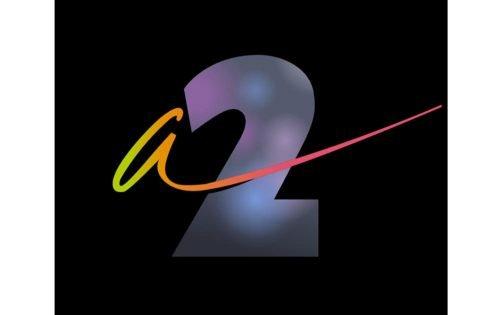 France 2 Logo 1986