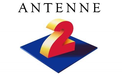 France 2 Logo 1990