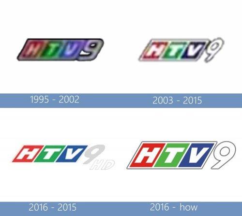 HTV9 Logo historia