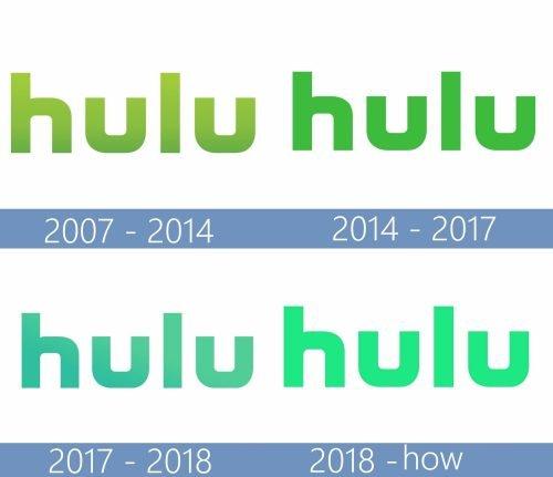 Hulu Logo historia