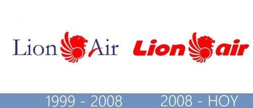 Lion Air Logo historia