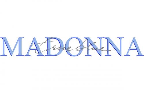 Madonna Logo 1986