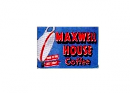 Maxwell House Logo 1927