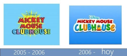 Mickey Mouse Clubhouse Logo historia