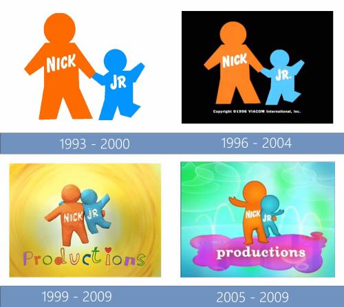 Nick Jr Productions Logo historia