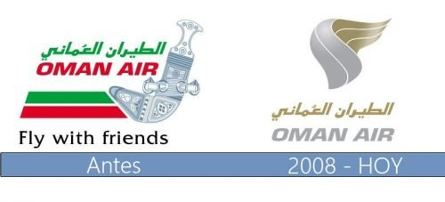 Oman Air logo historia