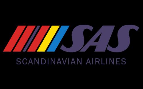 Scandinavian Airlines System Logo 1983