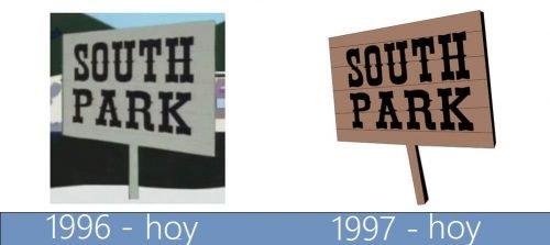 South Park Logo historia