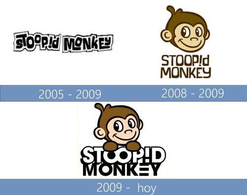 Stoopid Monkey Logo historia