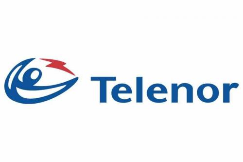 Telenor Logo 1995