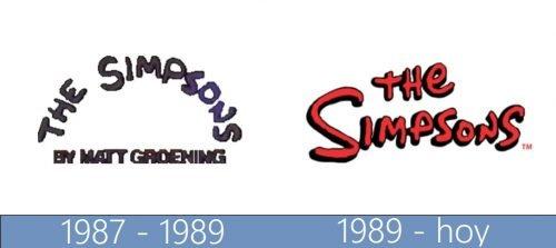 The Simpsons Logo historia