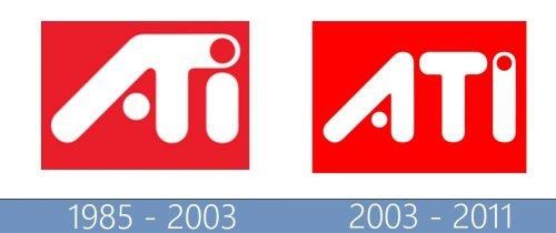 ATI logo historia
