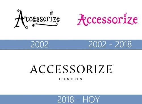 Accessorize Logo historia