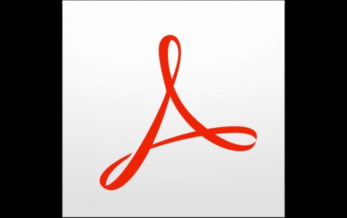 Adobe Acrobat Logo 2012
