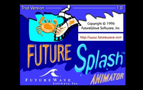 Adobe Flash Logo 1996