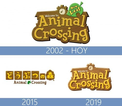 Animal Crossing Logo historia