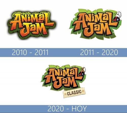 Animal Jam logo historia