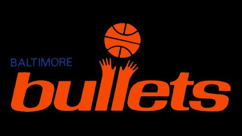 Baltimore Bullets logo 1986