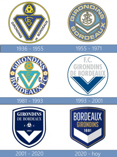 Bordeaux logo historia
