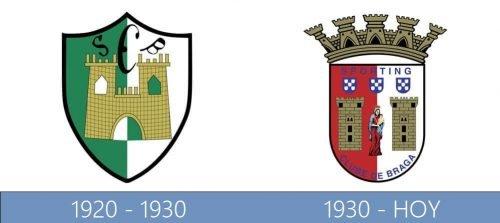Braga logo historia