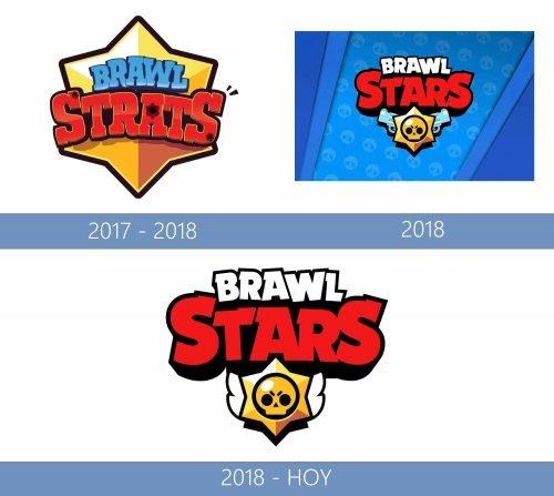 Brawl Stars logo historia