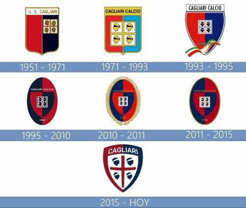 Logo Cagliari historia